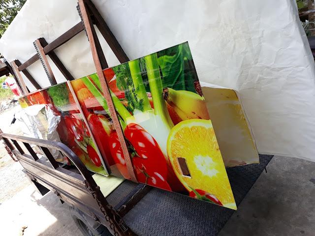 in tranh kính và thi công kính ốp bếp tại Âu Cơ - quận Tân Phú