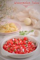 Watermelon Salsa, just 5 ingredients !