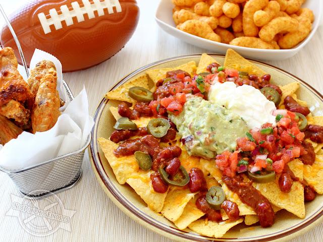 Nachos Super Bowl