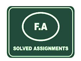 AIOU Solved Assignment Autumn 2020 FA/I.Com