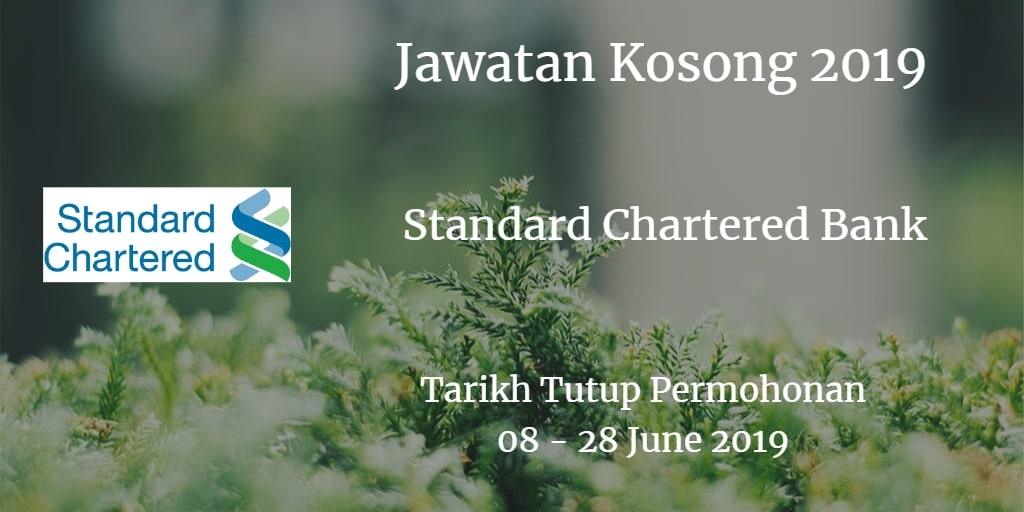 Jawatan Kosong Standard Chartered Bank 08 - 28 June 2019