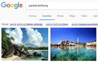 bagaimana mencari gambar menggunakan search engine google