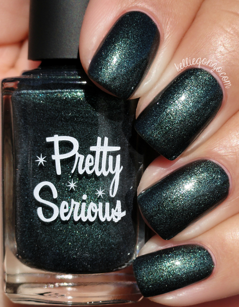 Pretty Serious Cosmetics Enchanting Evergreen