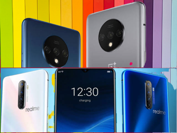 Realme X2 Pro, OnePlus 7T and Redmi K20 Pro