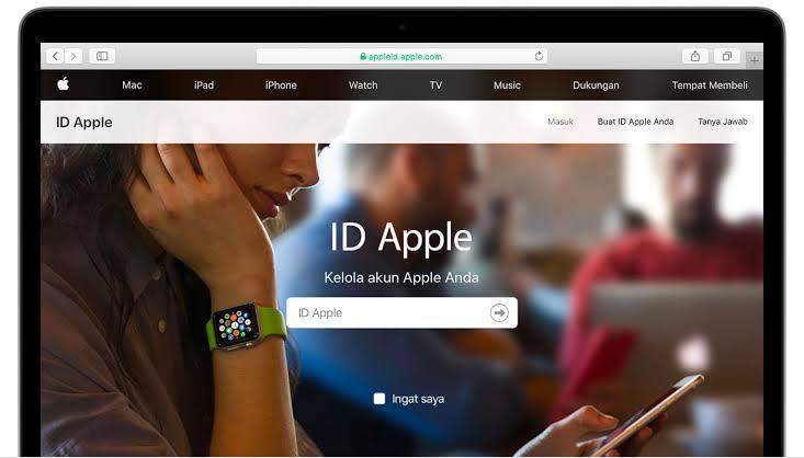 cara membuat ID Apple di Komputer