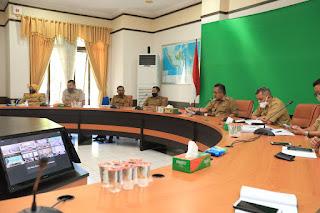 Rapat Entry Meeting Pengumpulan Data dan Informasi BPK RI Perwakilan Provinsi Kaltara - Tarakan Info