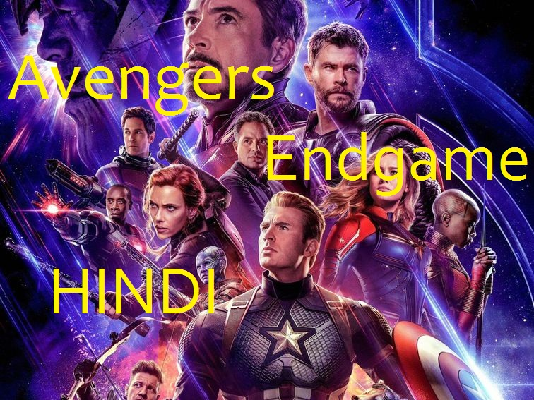 Avengers Endgame 2019 HDCAM 950MB Hindi 720p Download Copy by Bolly4u