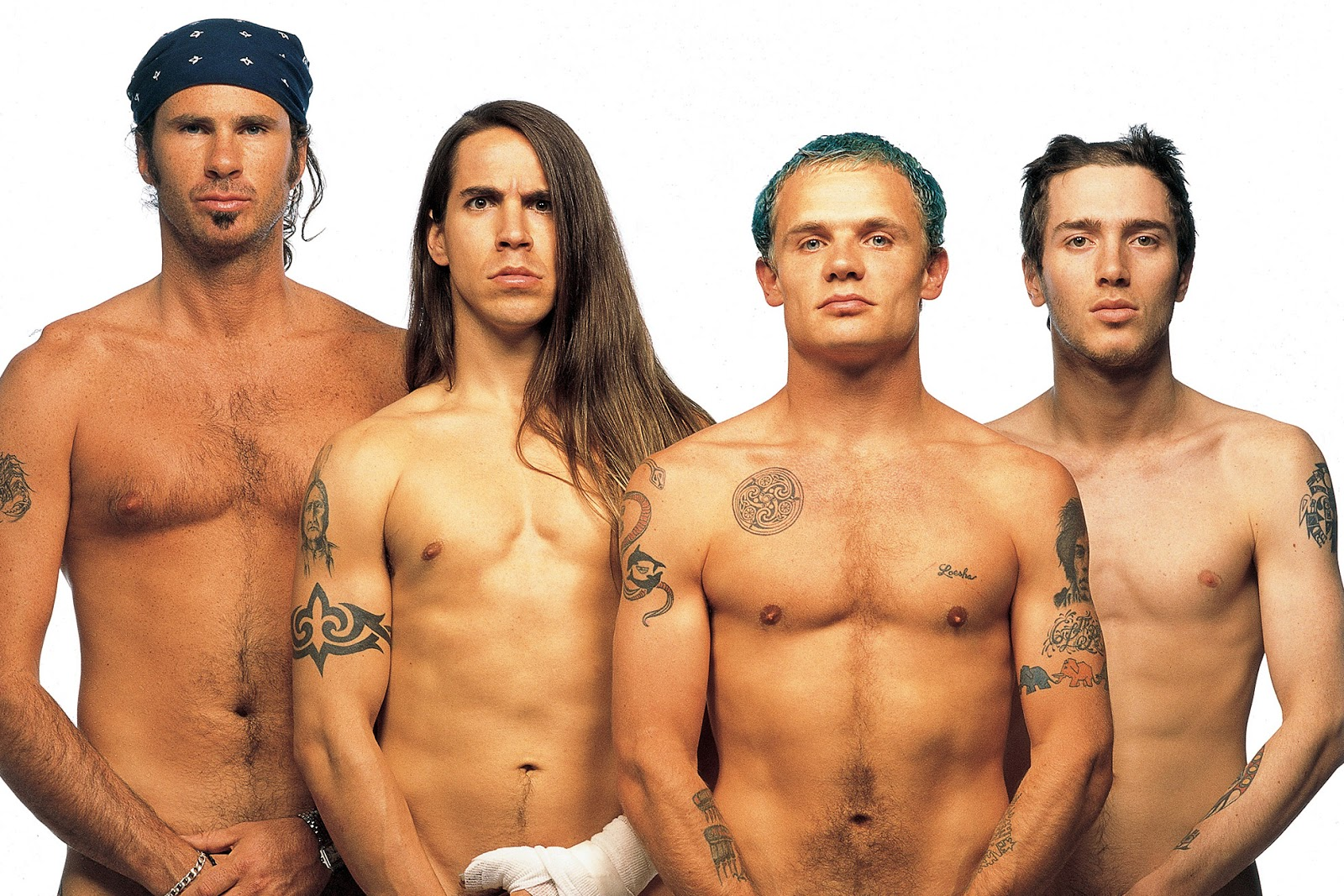 John Frusciante effects: Red Hot Chili Peppers: Deuses do Sexo e do Funk -  Outubro 1991