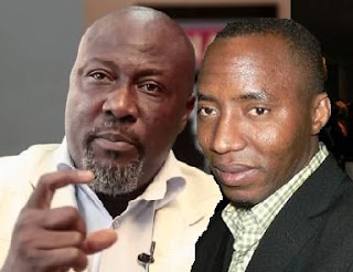 dino Melaye and Sahara reporters Publisher Sowore