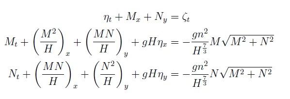 Sistemas de Ecuaciones de Aguas Someras