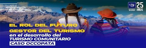 TURISMO COMUNITARIO, GESTOR DEL PROGRESO