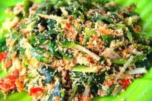 resep urap sayuran mudah