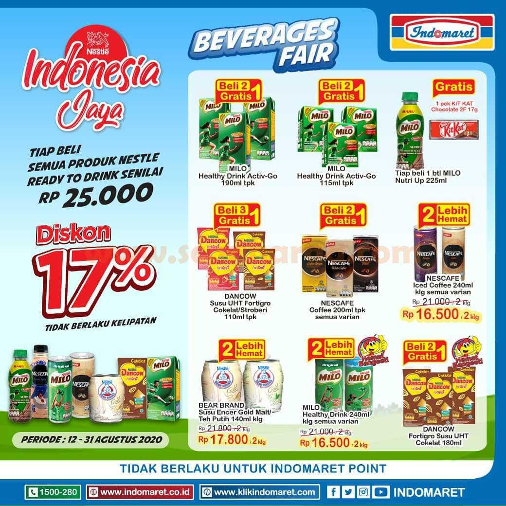 Promo Indomaret Beverages Fair