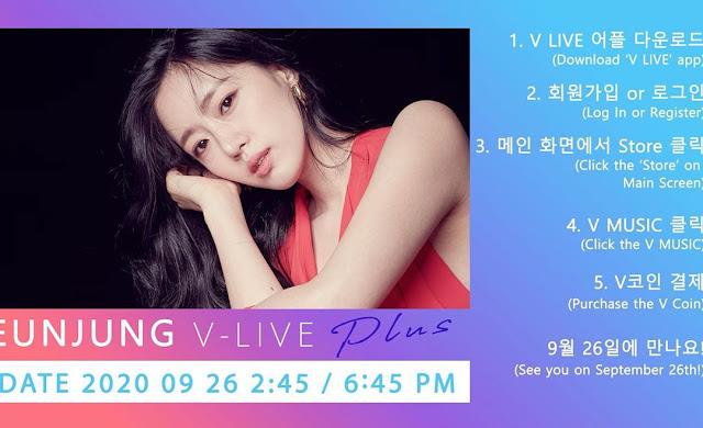 Eunjung First Gallery Fanmeeting