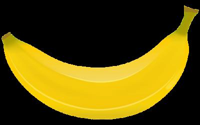 gambar buah pisang png