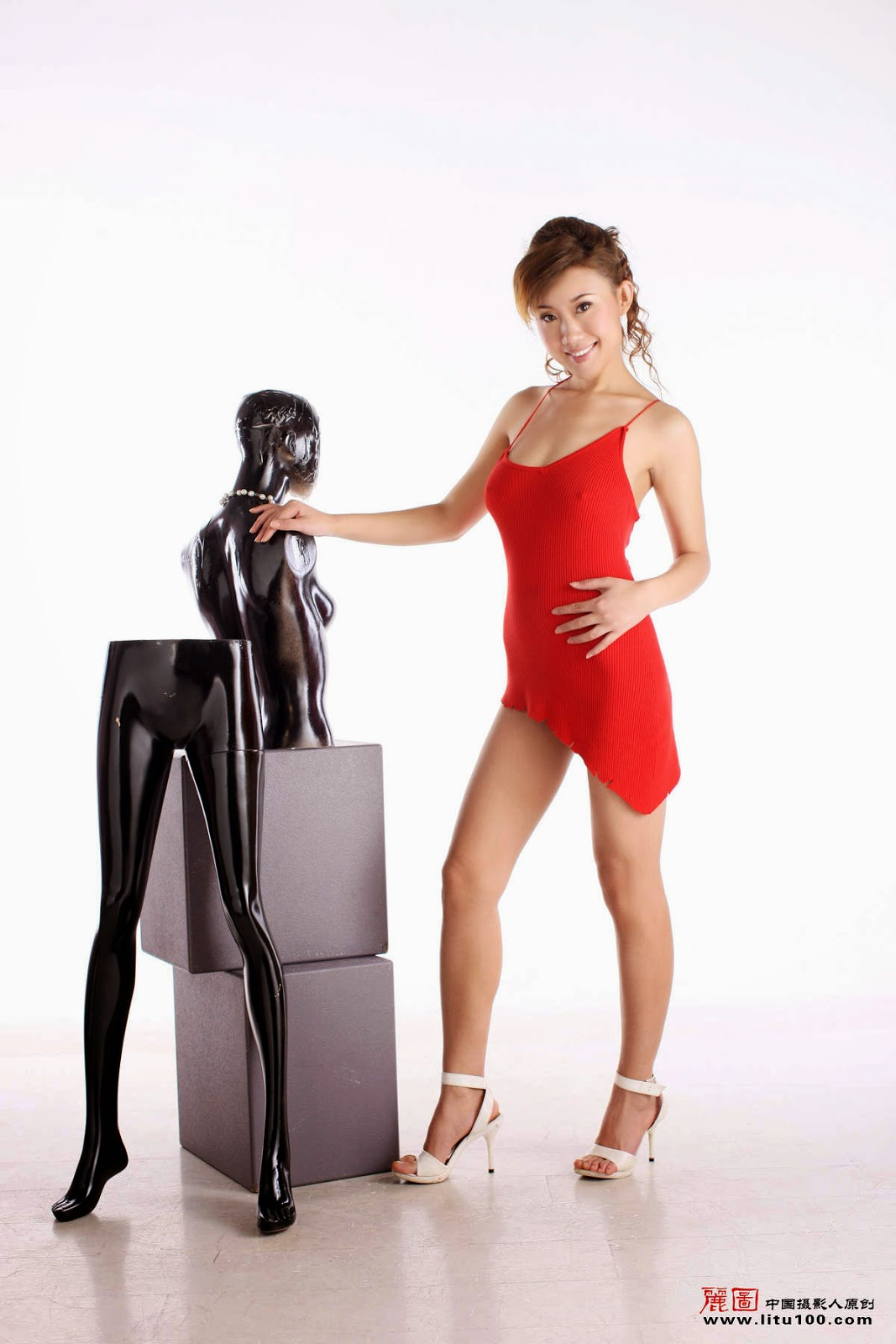 Chinese porn model - Litu 100 nude collection - Chinese