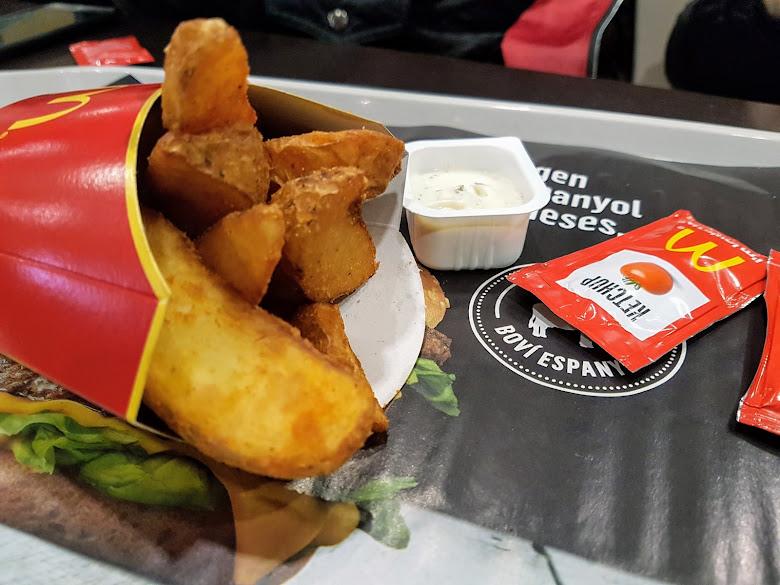 麥當勞的大塊薯條