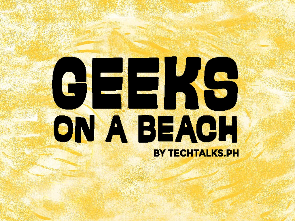Geeks on a Beach Official Logo