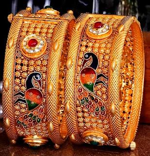 Gold Chora Bangles Design Jewelry | Fdbnj