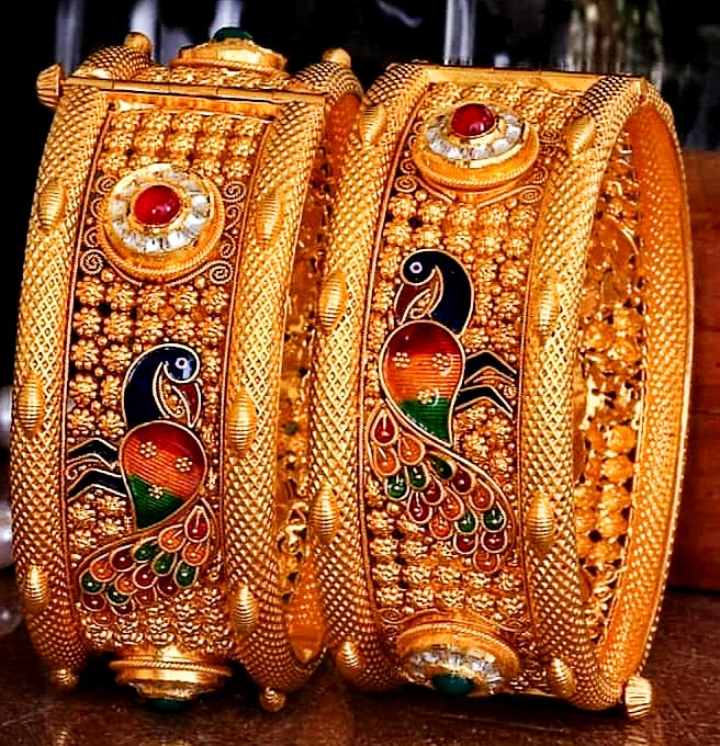 Gold Chora Bangles Design Jewelry | Fdbnj