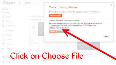 How to Change Theme In blogger