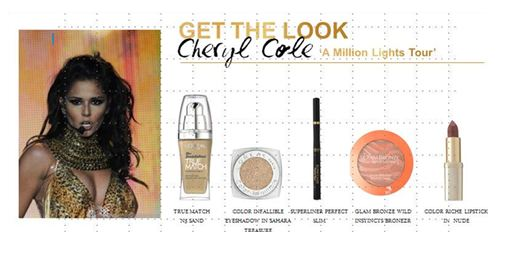 Lisa Laudat L Oréal Paris Celebrity Hair Make Up Artist Created Cheryl S Beautiful Look For Her And You Too Can Achieve This In Five Simple Steps