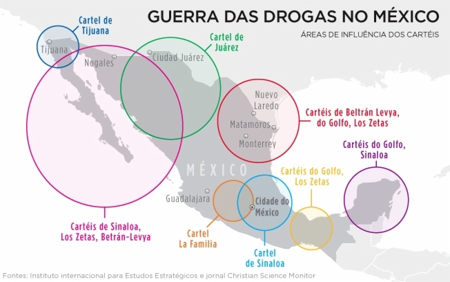 Tudo Sobre os Cartéis de Drogas no México