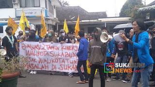 Aksi Persatuan Mahasiswa Islam Indonesia (PMII)