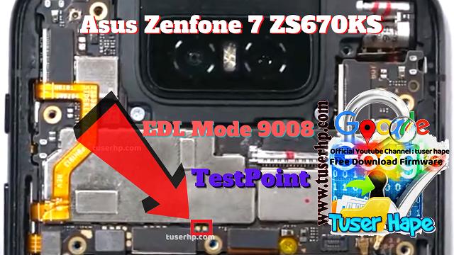 testpoint asus zenfone 7 zs670ks