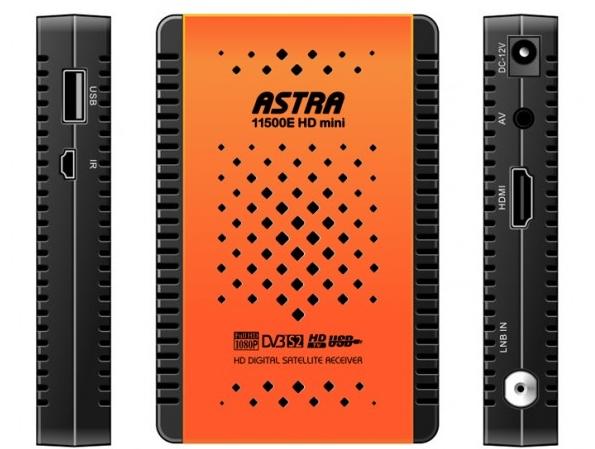 احدث سوفت وير لجهاز Astra 11500E HD Mini