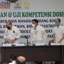 Kadin: Uji kompetensi Teknis  Dosen Lahirkan Link and Super Match Antara Dunia Pendidikan dan IDUKA