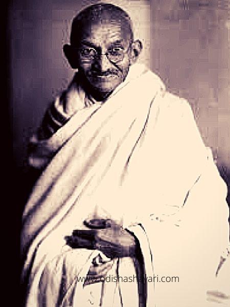 महात्मा गांधी की छवि