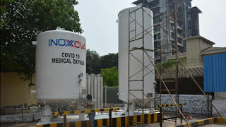 Found three medical oxygen storage tanks with a combined capacity of 171 MT to Delhi.