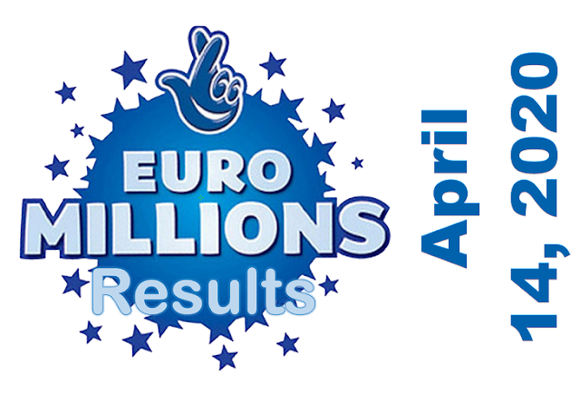 EuroMillions Results for Tuesday, April 14, 2020