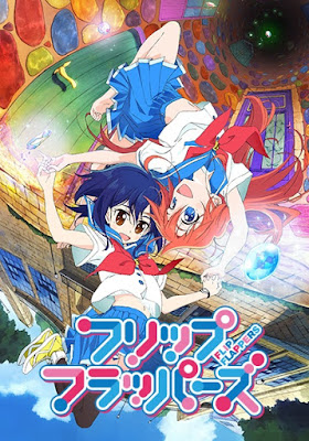 Flip Flappers Review Anime