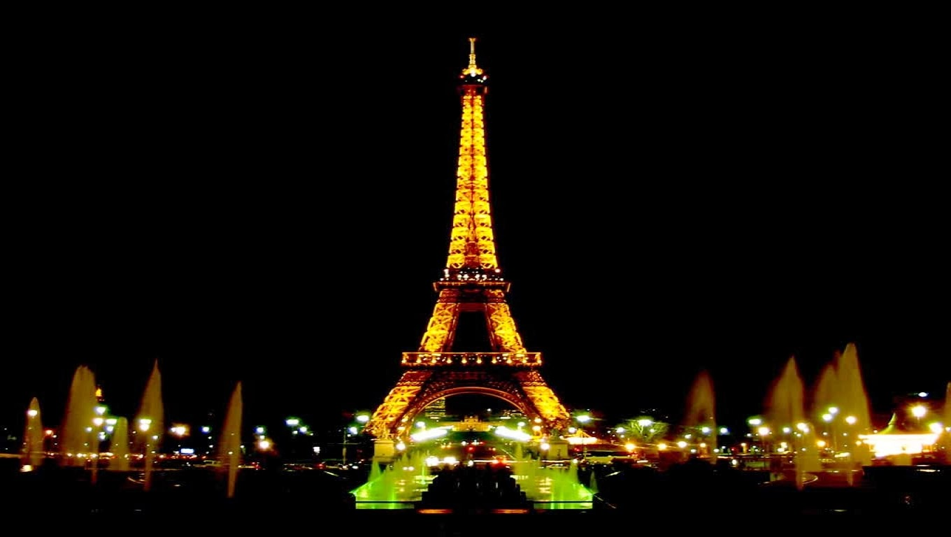 Wallpaper Android Iphone Wallpaper Menara Eiffel Malam Hari