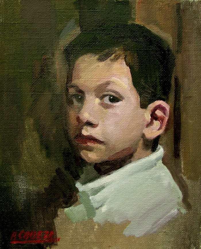 Современный испанский художник. Alejandro Cabeza