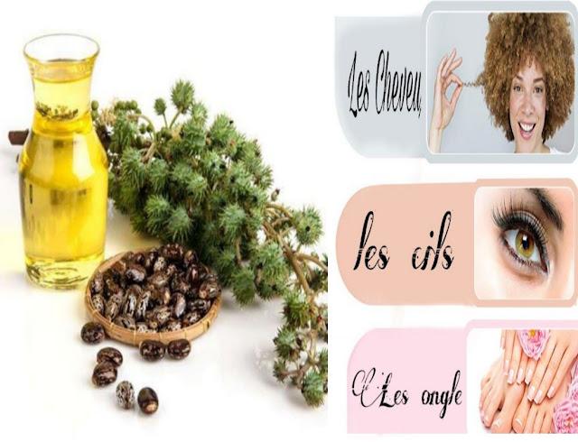 Comment appliquer l'huile de ricin pour les beauté de ses cheveux, ongles et peau