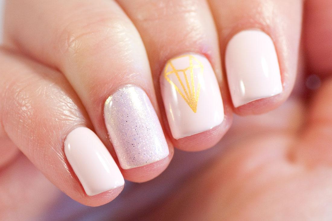 Madam Glam All Natural Pink Gel Nail Art May Contain Traces Of Polish