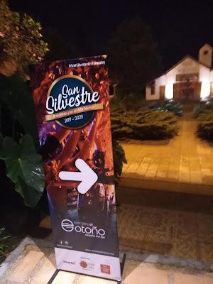 Celebración de San Silvestre en Termales el Otoño
