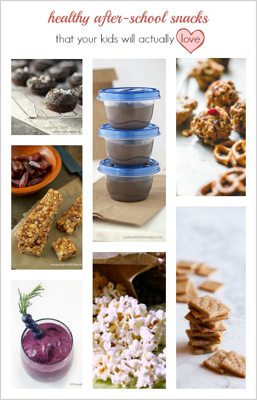 healthy after school snacks your kids will love