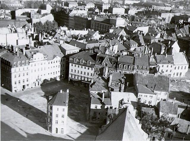 1959 год. Рига. Вид на площадь 17 июня (Домскую площадь)