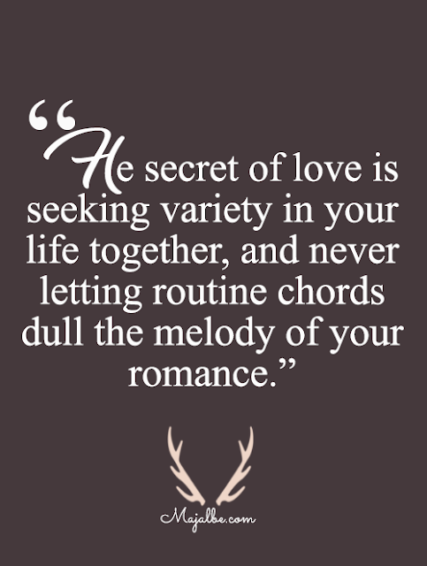 The Secret Of Love Love Quotes