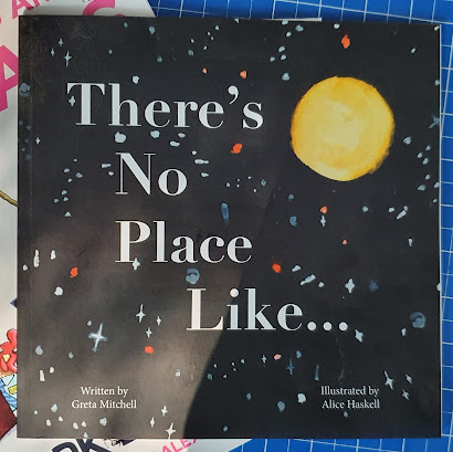 There's no place like childrens book about Curiosity Rover and opportunity