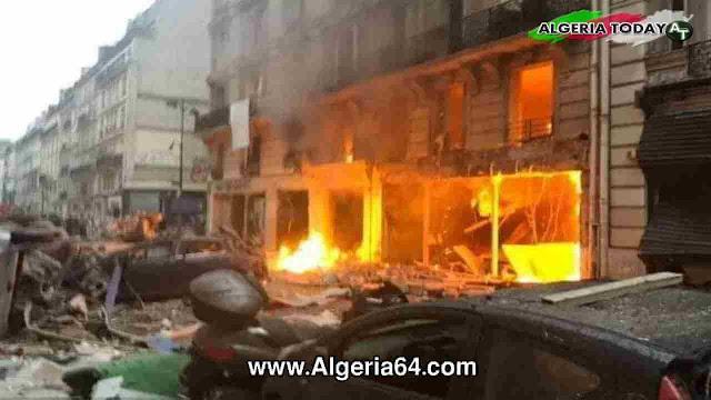 عاجل...إنفجار ضخم في باريس عاصمة فرنسا
