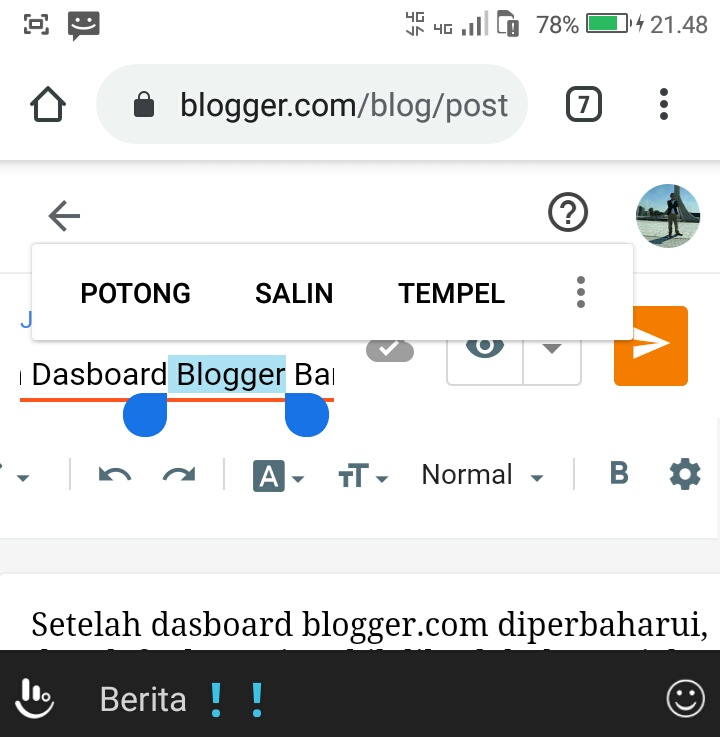 masalah-dan-solusi-dasboard-blogger-baru-versi-mobile