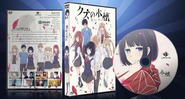 Kuzu no Honkai   Cover DVD  