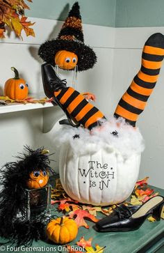 Halloween Homemade Decoration Idea
