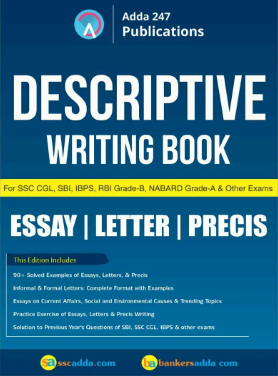 Descriptive Writing Book by Bankersadda
