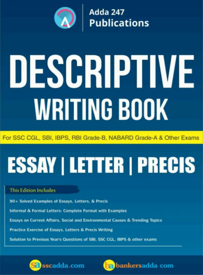 Descriptive Writing e-Book by Adda247 PDF Download